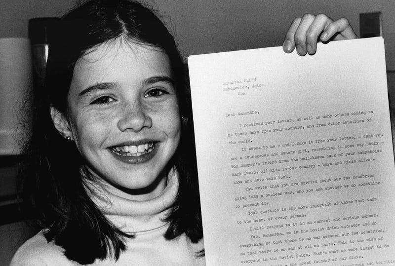 Illustration for article titled Esta carta de una niña de 10 años cambió la historia de la Guerra Fría
