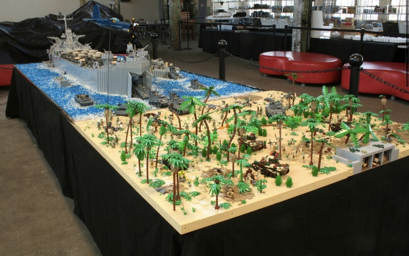 Incredible 500,000-Piece Lego Recreation of Famous World War