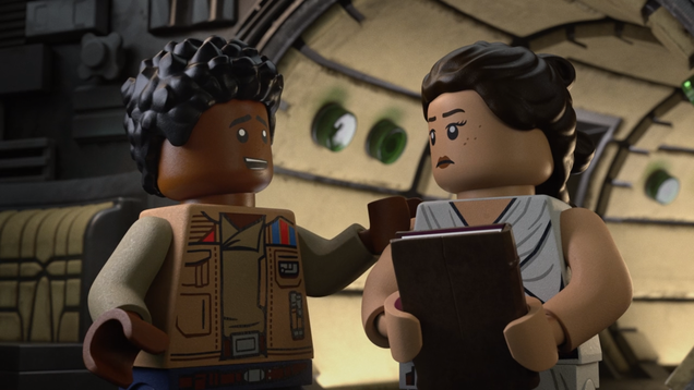 I Can t Believe the Lego Star Wars Holiday Special Understands the True Burden of All Masters