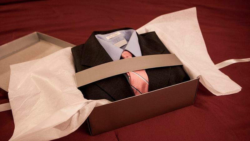 Illustration for article titled David Koch Delivers Suit With Note Reading 'Wear This Tonight' To Marco Rubio's Hotel Room