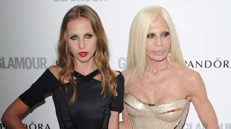 Illustration for article titled Donatella and Allegra Versace Are a Study in Contrasts