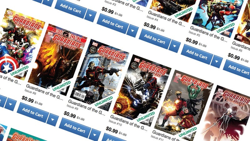 Guardians of the Galaxy Sale | ComiXology