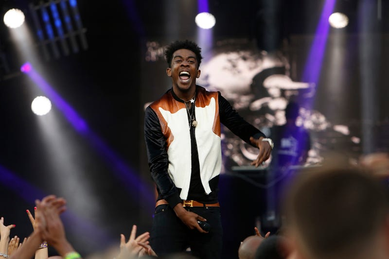 Desiigner during a Sept. 6, 2016, appearance on Jimmy Kimmel Live!Randy Holmes/ABC via Getty Images