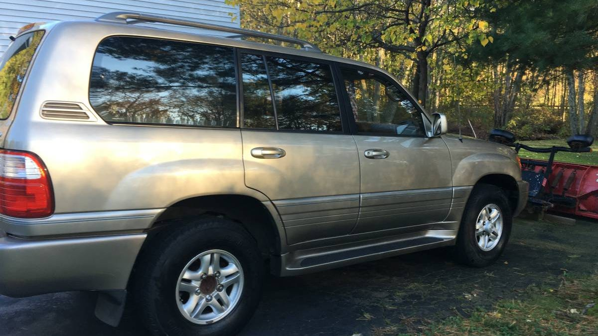 For $5,500, Would You Crossover To This 1999 Lexus LX470 SUV?