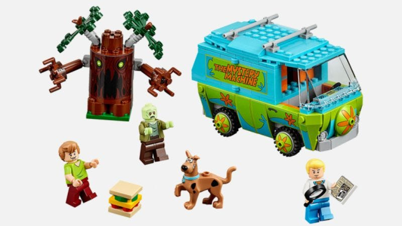 Lego adds Scooby-Doo to its list of licensed playsets