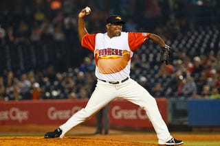 Illustration for article titled Hey, It's Jose Valverde In A Hot Dog Jersey