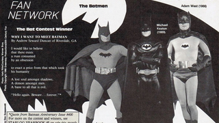 Illustration for article titled This Ode To Batman From A Starlog Contest Winner Is Poetic Genius