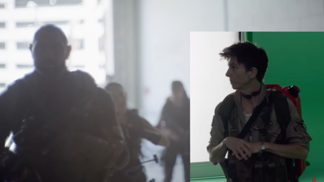 Watch 6 Glorious Minutes of Tig Notaro Getting Digitally Added to Army of the Dead