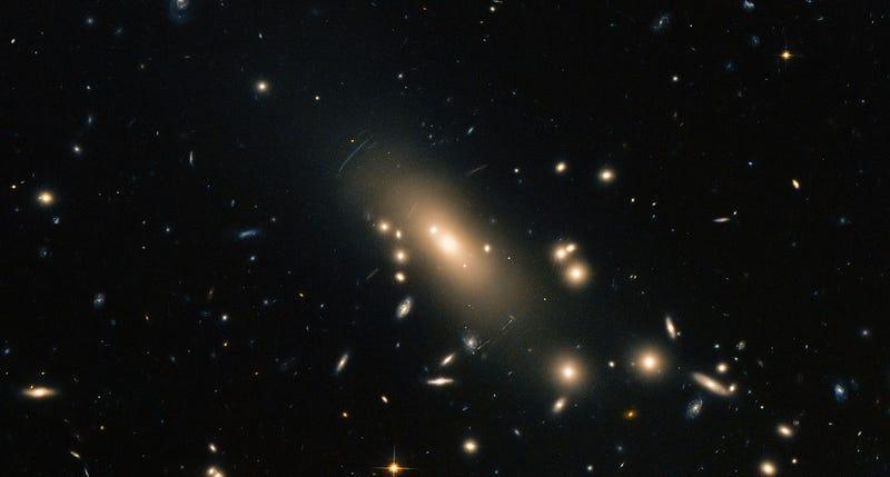 "Illustration for article titled El Hubble capta un cúmulo de 300 galaxias ""cercanas"" a la Tierra"