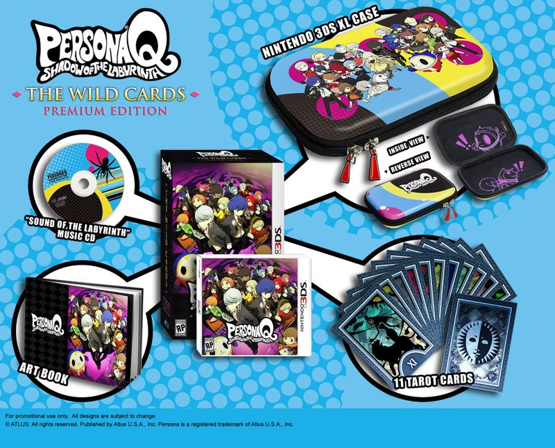 Illustration for article titled Tay Deals - Persona Q: Shadow of the Labyrinth Premium Edition - $50 Best Buy