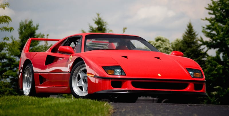 Eight Things You Didn T Know About The Ferrari F40