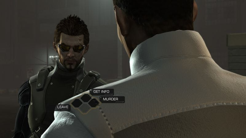 Illustration for article titled Anti-pacifist Deus Ex: Human Revolution playthrough creates so many corpses