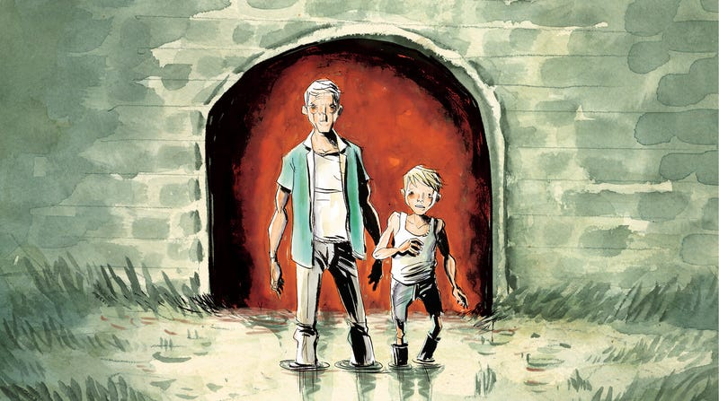 Illustration for article titled Jeff Lemire looks back and pushes forward in this Frogcatchers first look
