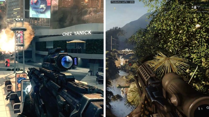 Illustration for article titled Call of Duty's New Trailer Vs. Medal of Honor's New Trailer