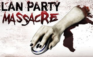Illustration for article titled Nerds Get Slaughtered In 'LAN Party Massacre'