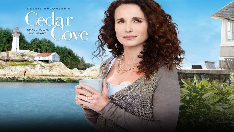 Illustration for article titled Grab your mug and cardigan—Cedar Cove is back