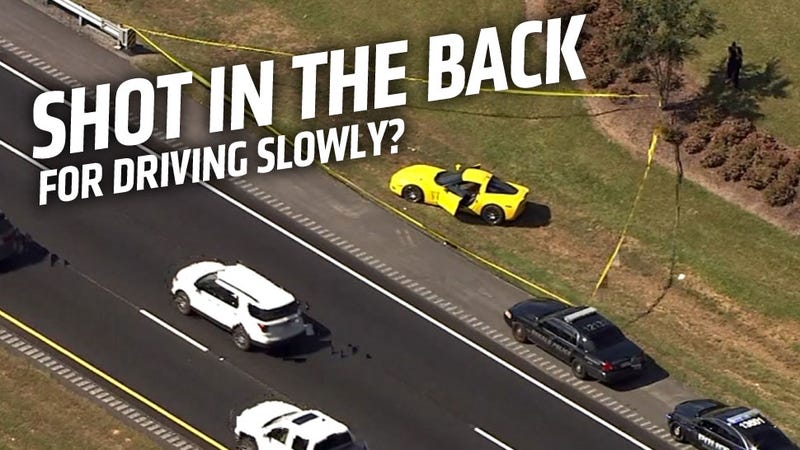Mustang Driver Shoots Corvette Driver For Driving Too Slowly
