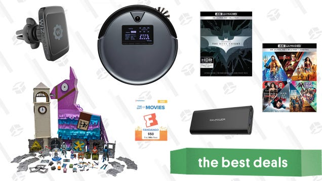 Friday s Best Deals: Warner Bros. 4K Film Collections, Fanatics, Gift Cards, Car Mounts, and More
