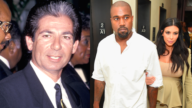 "Kanye West Says Robert Kardashian Is ""Still Doing Deals for Controversial Black People"" in Heaven"
