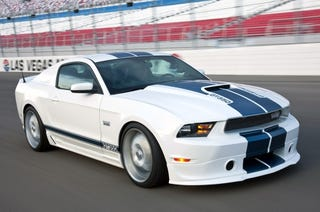 Illustration for article titled 2011 Shelby GT350: One Pudgy New Mustang