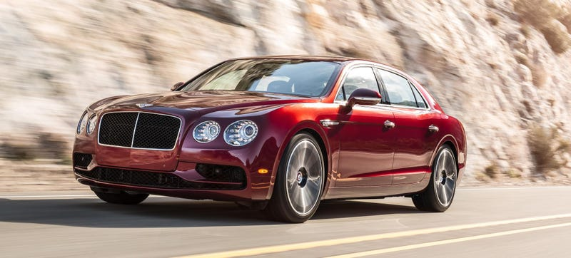 Illustration for article titled Bentley Gives The V8 Flying Spur ABlack Radiator Grill So It Becomes A V8 S