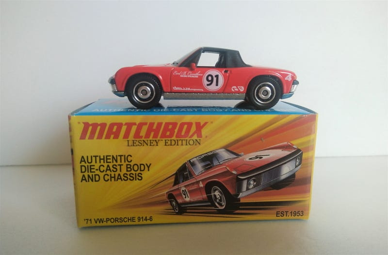 Matchbox Lesney Edition Porsche 914, released in 2011
