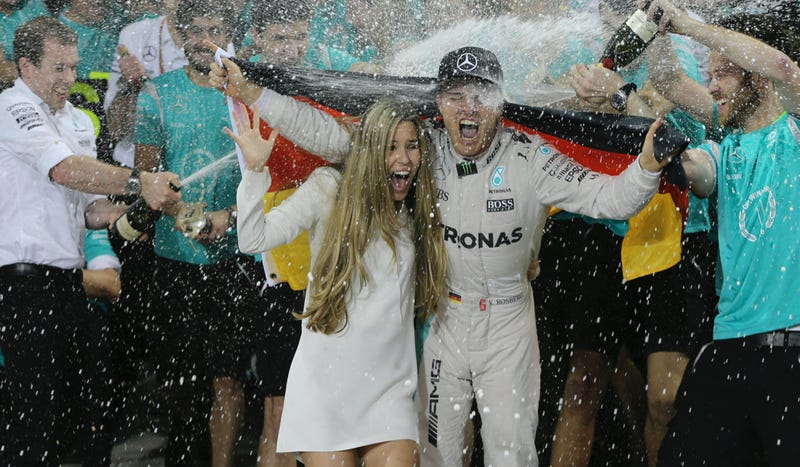 Rosberg retires from F1 after winning world championship