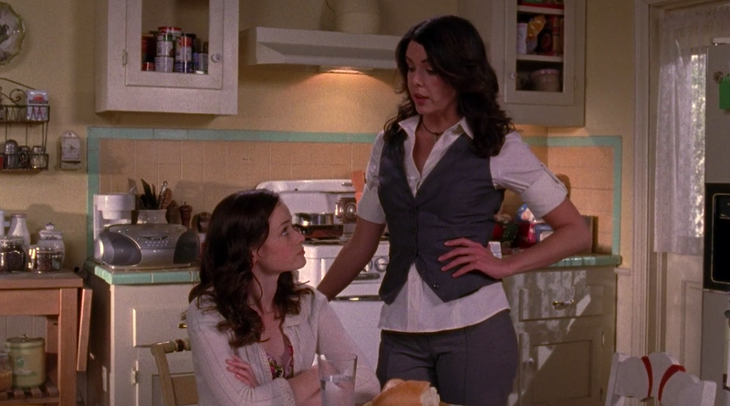 The Gilmore Girls break up in a solid season 5 finale