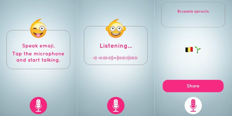 This Wonderfully Silly App Translates Your Voice Into Emoji