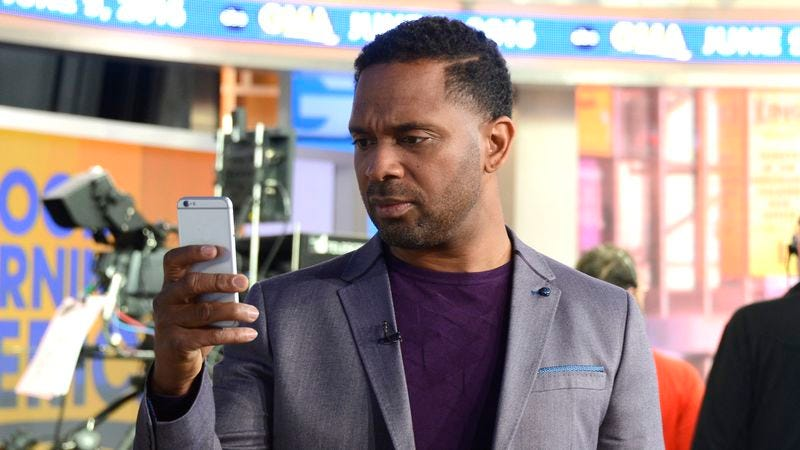 Mike Epps, confirming his appointment with Death. (Photo credit: Ida Mae Astute/Getty)