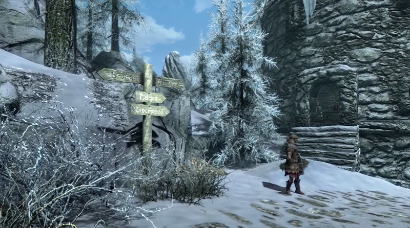 Beyond Skyrim Mod Adding Giant City From The Elder Scrolls