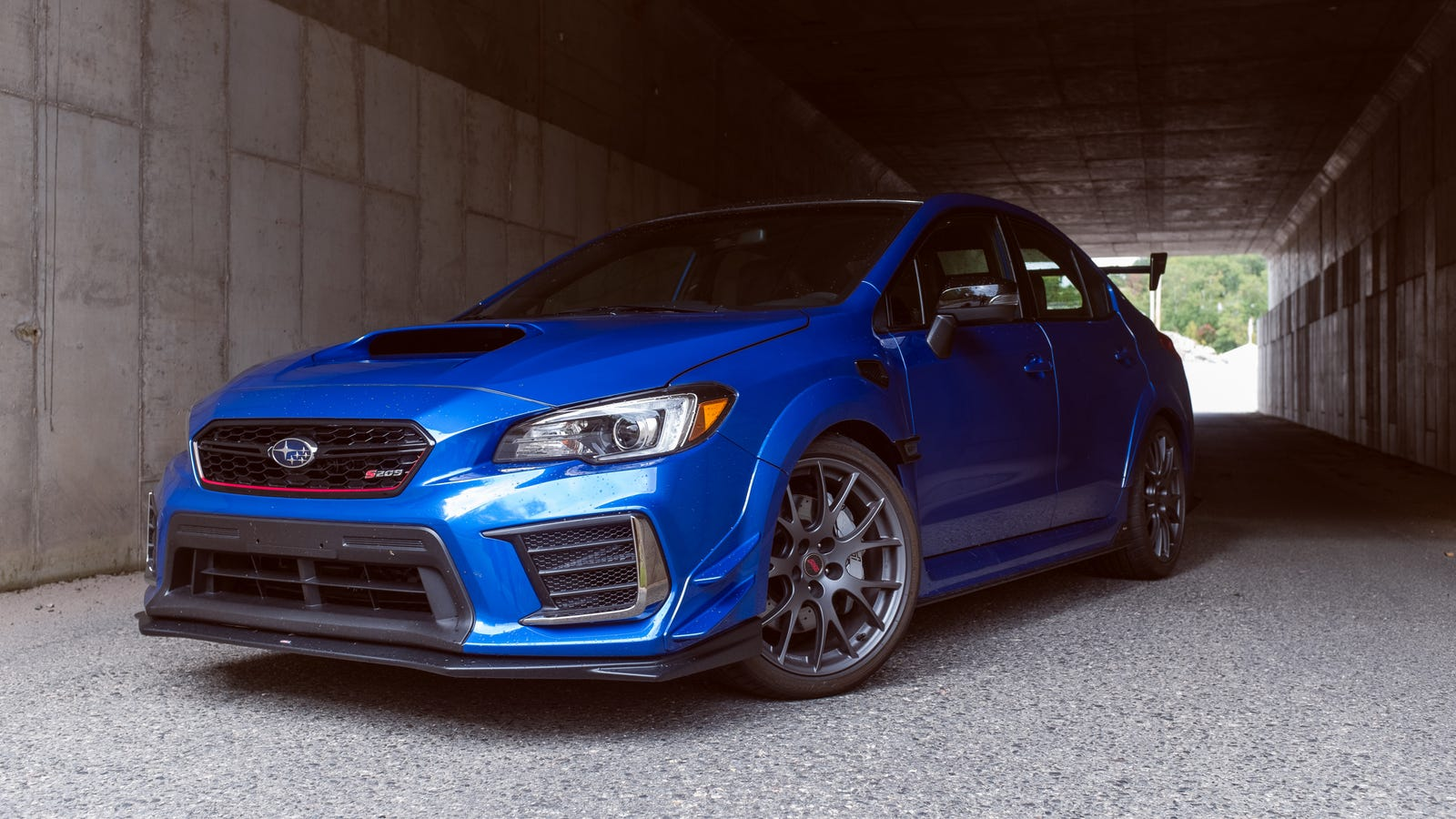 The 2020 Subaru WRX STI S209 Has So Much Grip Even Race Car Drivers Struggle To Get It Sideways