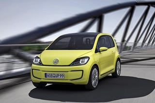 Illustration for article titled VW E-Up: Press Photos