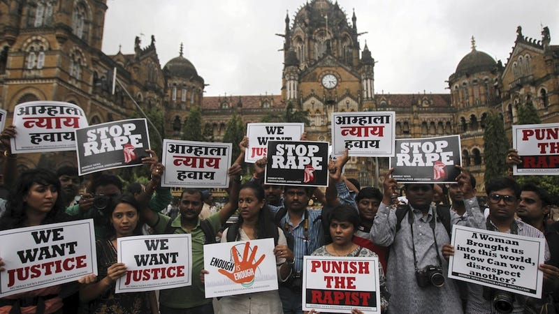 Illustration for article titled Brutal Gang Rape in Mumbai Reignites Outrage in India
