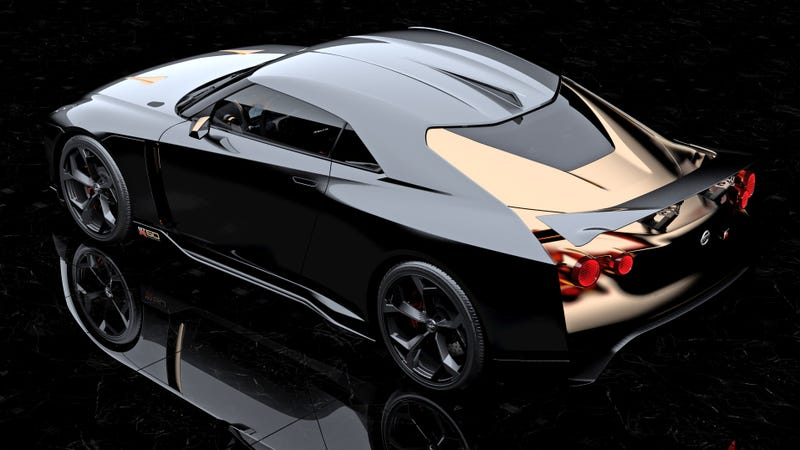 Illustration for article titled The Nissan GT-R50 By Italdesign Is The Best-Looking GT-R Ever