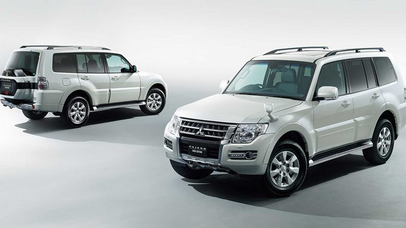 Illustration for article titled The Mitsubishi Pajero to Retire from Japanese Markets