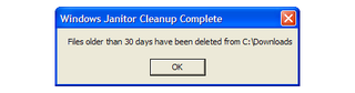 Illustration for article titled Clean out old files with the Windows Janitor script