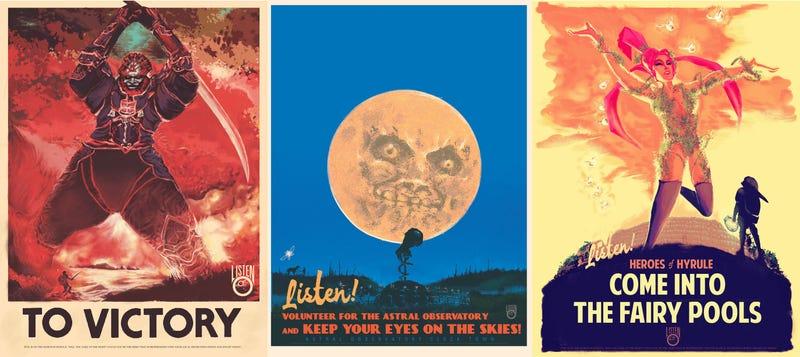 Zelda Propaganda Posters Are Fighting The Good Fight