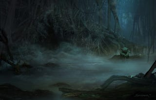 Illustration for article titled Force Unleashed concept art is the coolest Star Wars art in ages