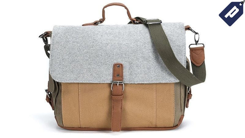 Illustration for article titled Stay Organized With The Something Strong Messenger Bag for 60% Off