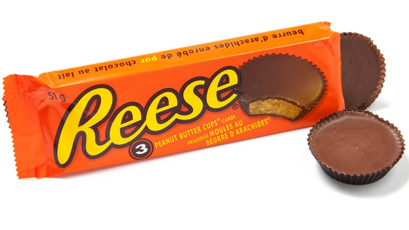 Illustration for article titled Reese's candy converter turns inferior sweets into peanut butter cups