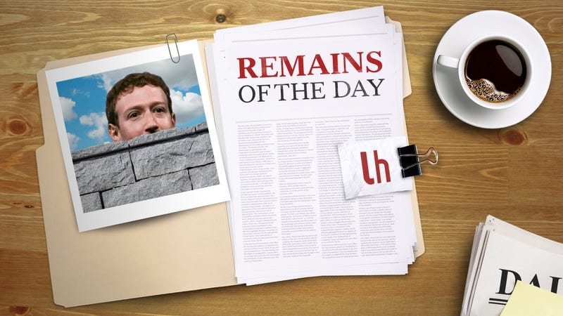 Illustration for article titled Remains of the Day: Facebook Plans on Fighting Clickbait
