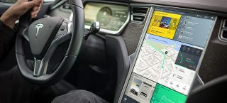 Illustration for article titled The Tesla Model S Is Getting A UI Redesign And It Should Look Like This
