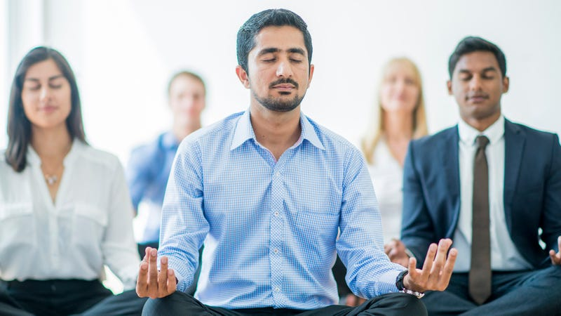 Illustration for article titled Mindfulness FTW: This Amazing Company Offers Free Meditation Classes To Its Employees To Give Them The Inner Calm They Need To Stop Stressing About Their Terrible Health Insurance