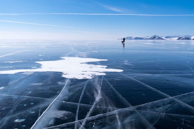 Illustration for article titled Este hombre acaba de convertirse en la primera persona en cruzar la Antártida solo sin ningún tipo de ayuda