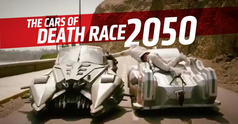 Illustration for article titled All The Insane Cars In The Death Race 2050 Trailer