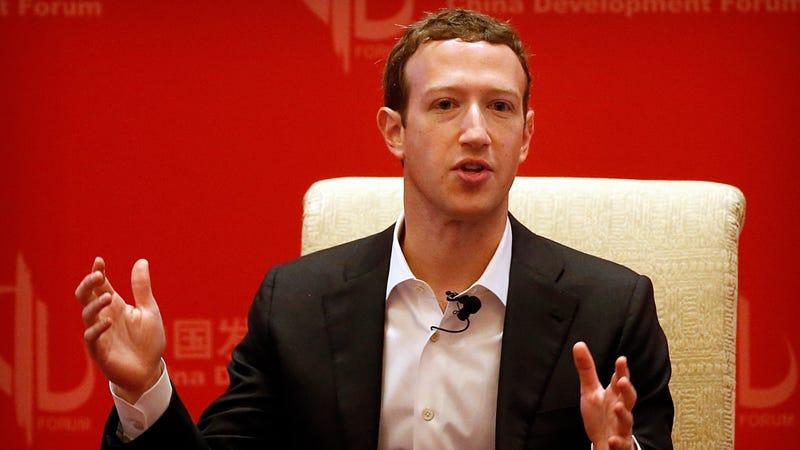 Illustration for article titled Senate Leaders Urge Mark Zuckerberg to Testify Instead of Sending Lackeys