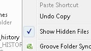 Illustration for article titled Add Hidden File Showing, Other Right-Click Tools with Shell Tools