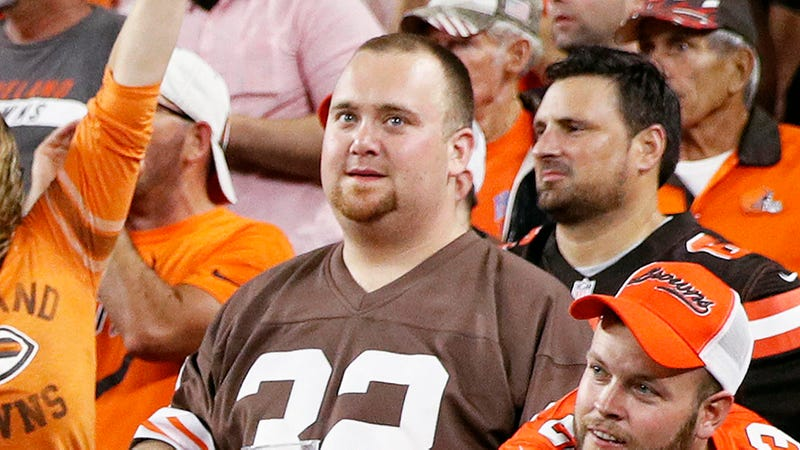 Illustration for article titled Cautious Browns Fan Not Expecting Team To Do Better Than 13-3