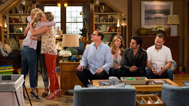 Illustration for article titled Warm up your hug muscles—Fuller House is here